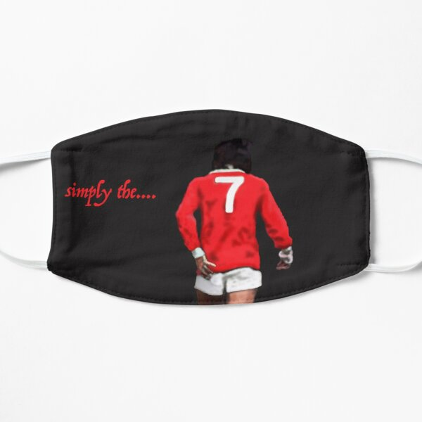 simply the...... Best. George Best. Legend  Flat Mask