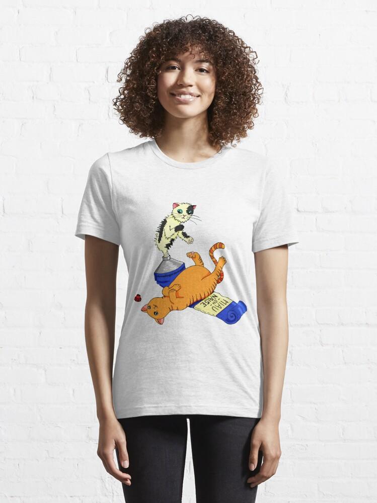 Alternative Ansicht von MIAU-OH-NAISE Essential T-Shirt