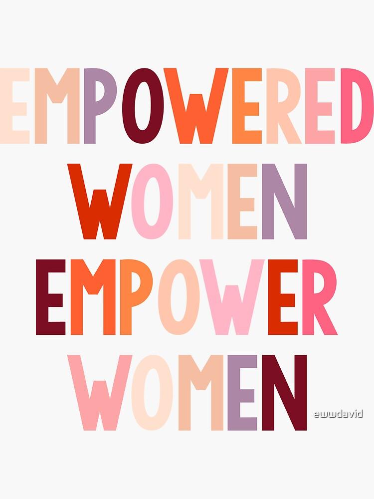 ermächtigte Frauen befähigen Frauen von ewwdavid