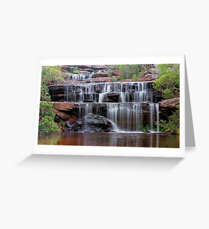 Falls of the Bush Greeting Card