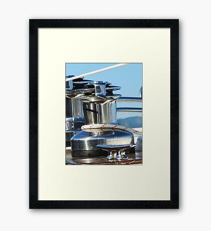 Winch way is Winch? Framed Print