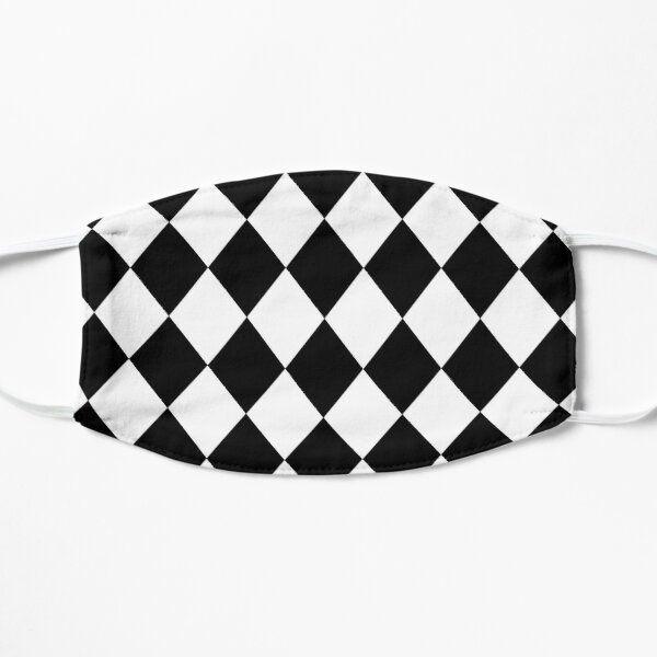 Arlequin - carreaux losanges - Keep Your Shirt Alive! Masque sans plis