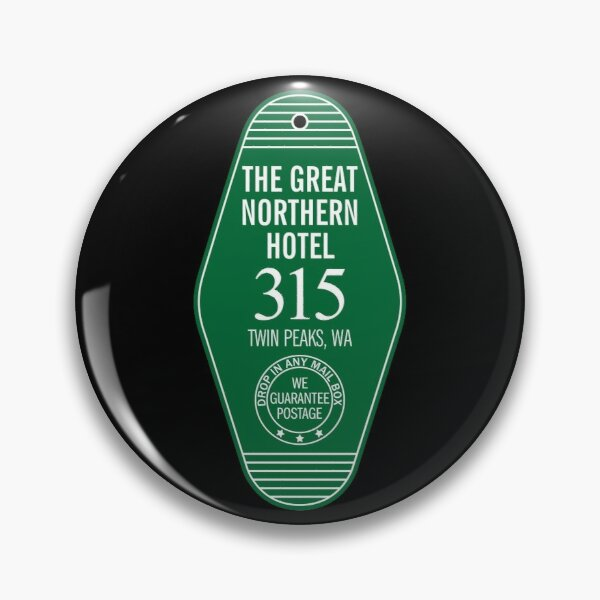 Twin Peaks - La llave del gran hotel del norte Chapa