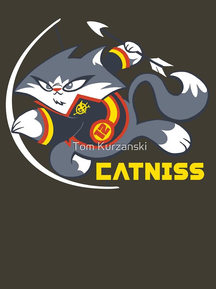 Catniss by tomkurzanski