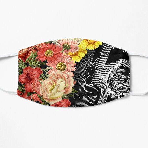Flower Heart Spring Flat Mask