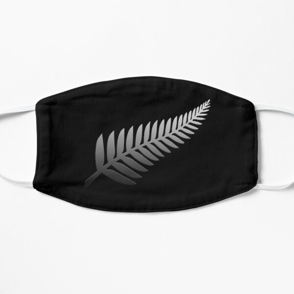 New Zealand Rugby T Shirt Silver Fern Graphic for Rugby Fans Masque sans plis