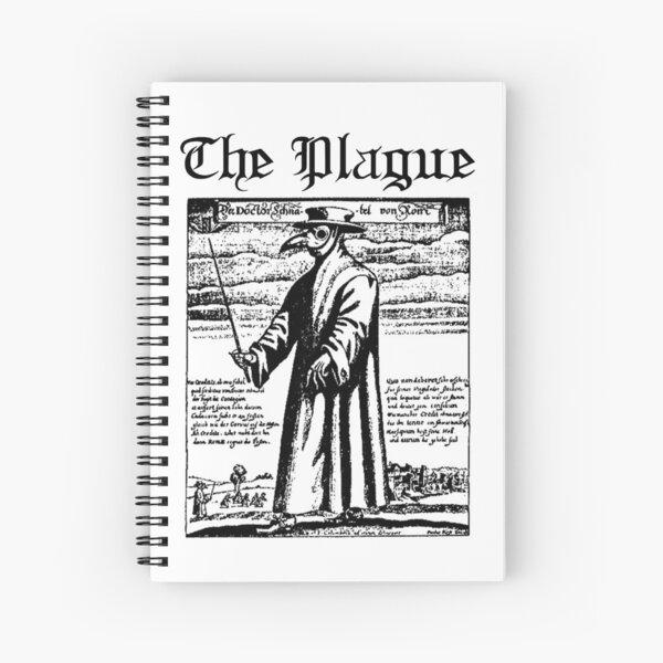 The Plague Spiral Notebook