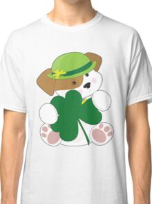 Cute Puppy St Pats Classic T-Shirt