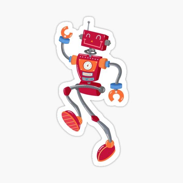 Zoom Robot Sticker