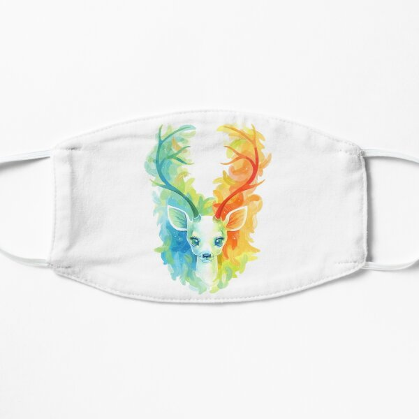 Feather Fawn Flat Mask