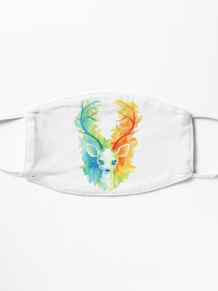Alternate view of Feather Fawn Mask