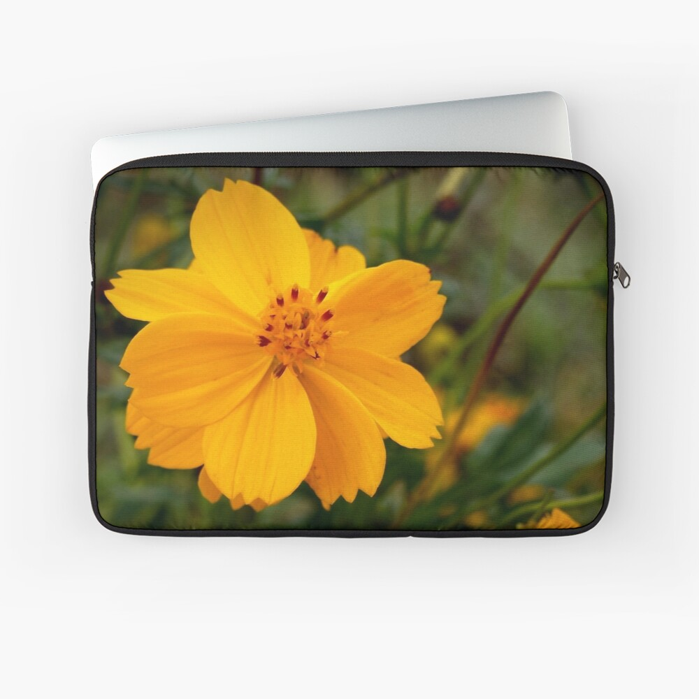 Golden Coreopsis Laptop Sleeve