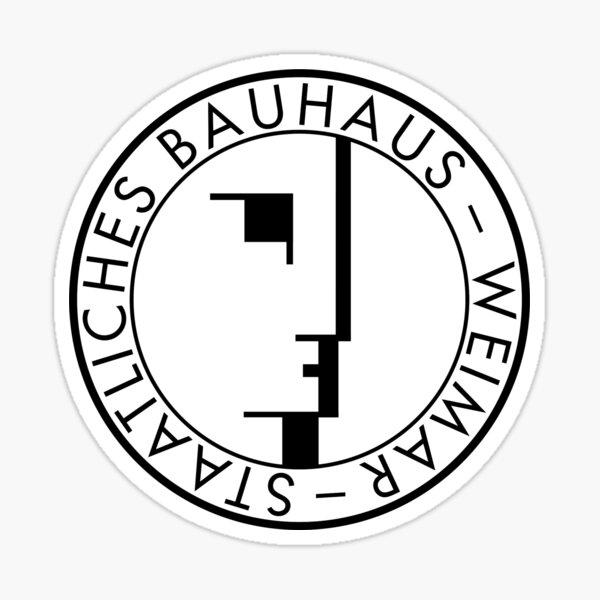 BAUHAUS WEIMAR (VINTAGE) Sticker