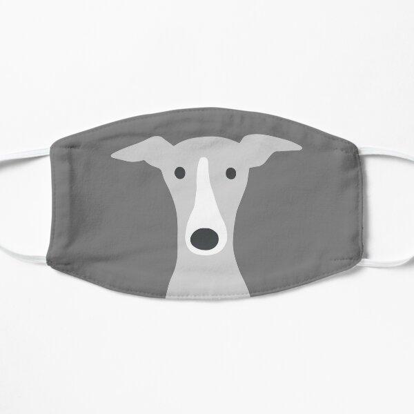 Greyhound   Italian Greyhound   Cute Whippet Dog  Flat Mask