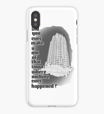 Hello Did you ever make it out iPhone Case