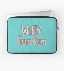 "Willy Bum Bum - ""Logo"" Laptop Sleeve"