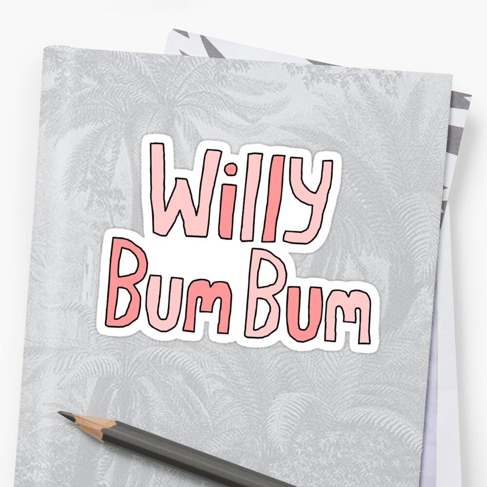 """Willy Bum Bum - """"Logo"""" by alienredwolf"""