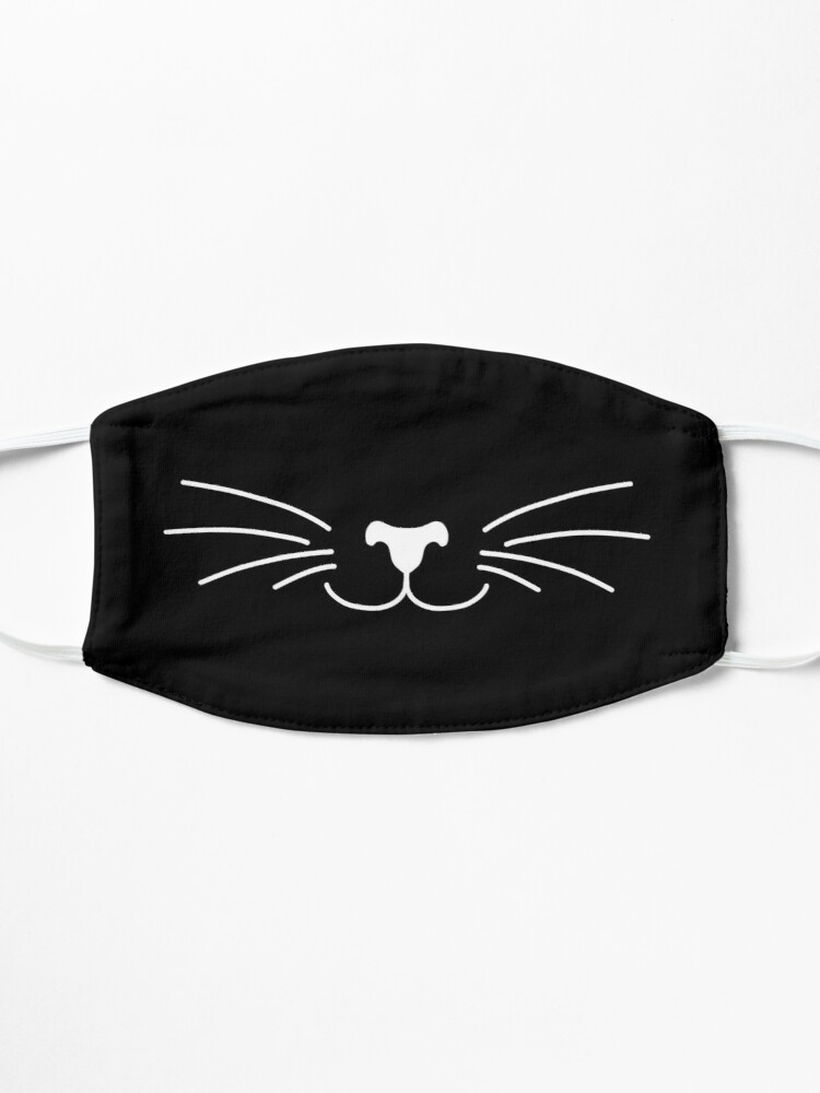 Alternate view of Cute cat Face Mask Mask