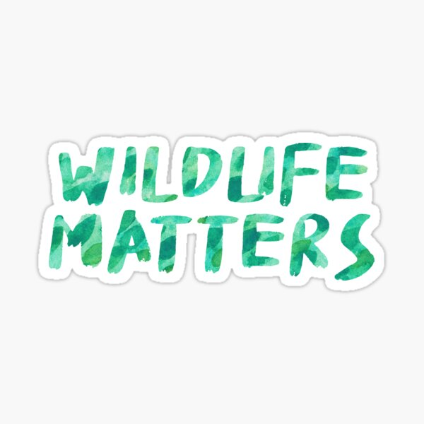 Wildlife Matters Sticker