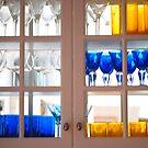 Glasses - Yellow & Blue by peterrobinsonjr