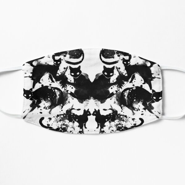 Rorschach Test Cat's On My Mind Mask