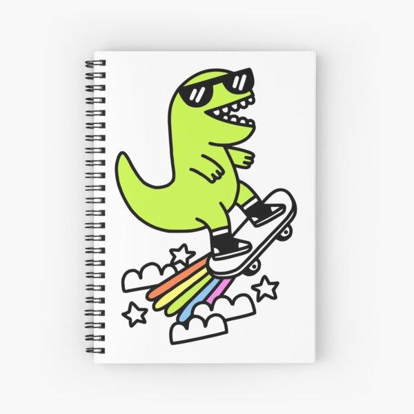 Rad Rex Spiral Notebook