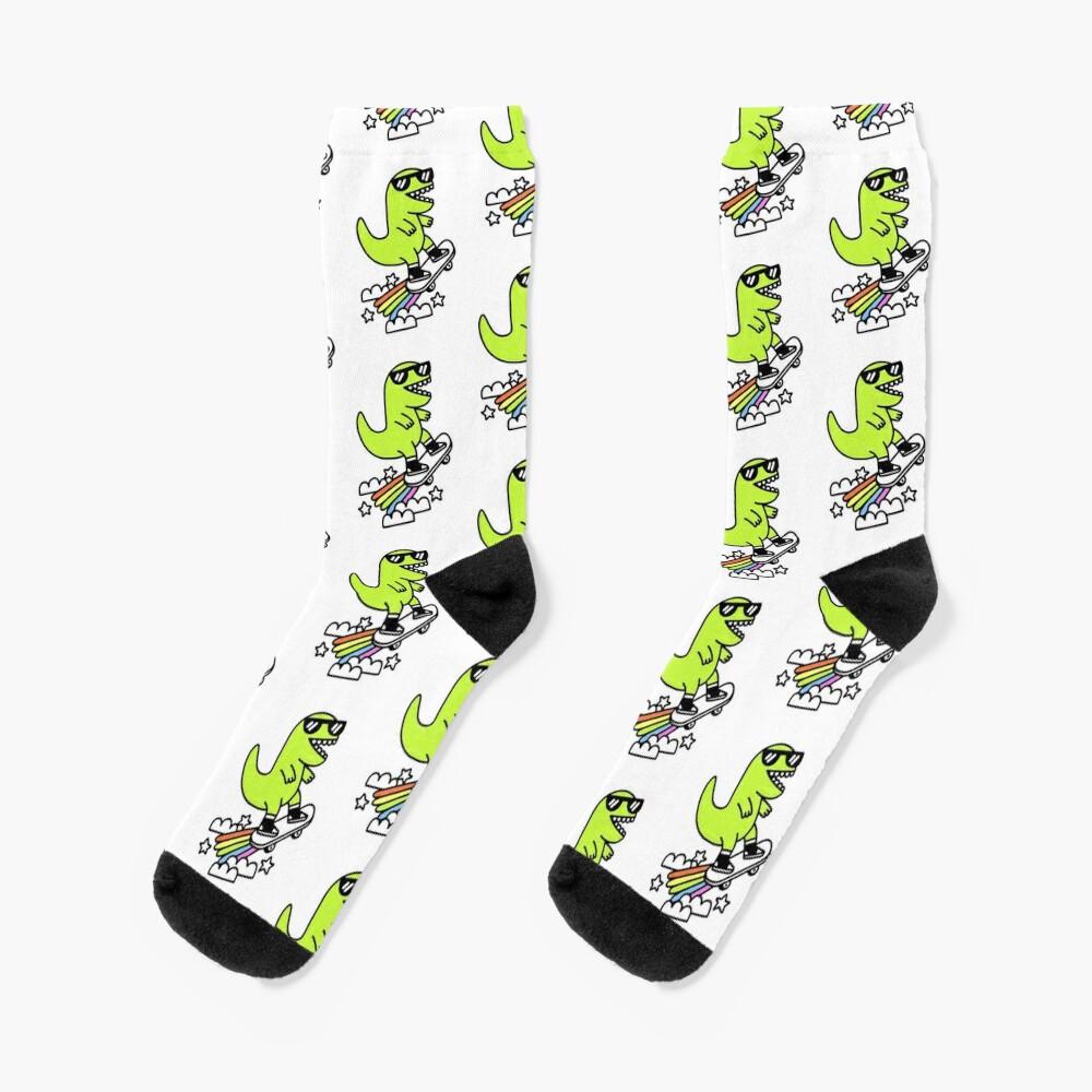 Rad Rex Socks