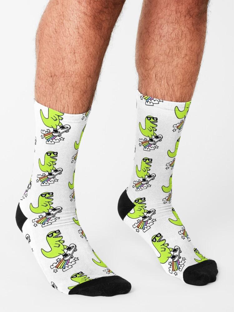 Alternate view of Rad Rex Socks