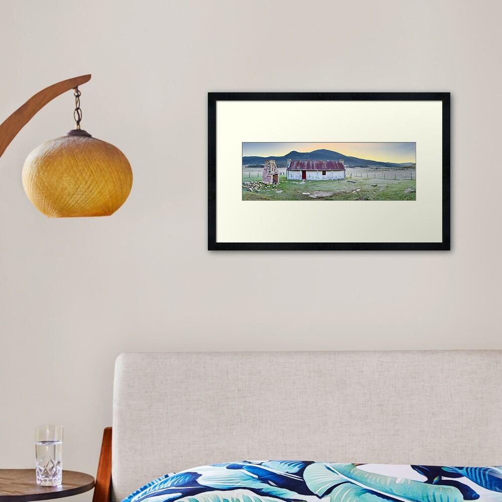 Orroral Homestead, Namadgi National Park, ACT, Australia Framed Art Print