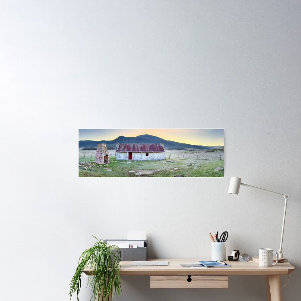 Orroral Homestead, Namadgi National Park, ACT, Australia Poster
