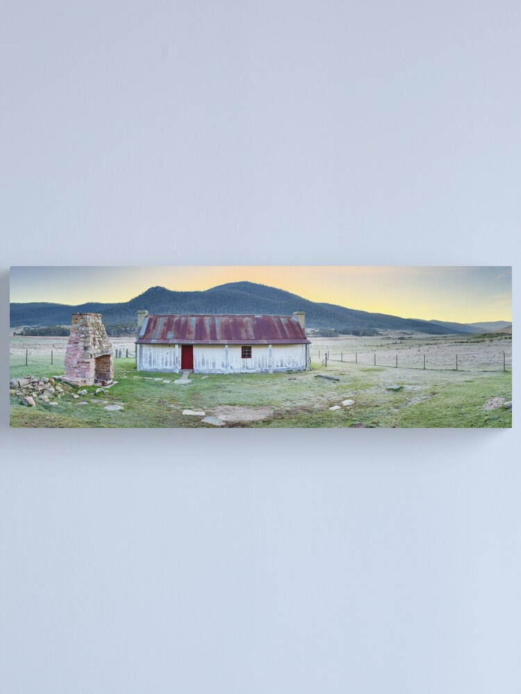 Alternate view of Orroral Homestead, Namadgi National Park, ACT, Australia Canvas Print