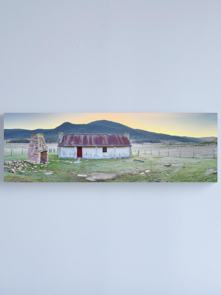 Alternate view of Orroral Homestead, Namadgi National Park, ACT, Australia Canvas Print