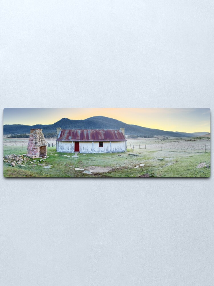 Alternate view of Orroral Homestead, Namadgi National Park, ACT, Australia Metal Print