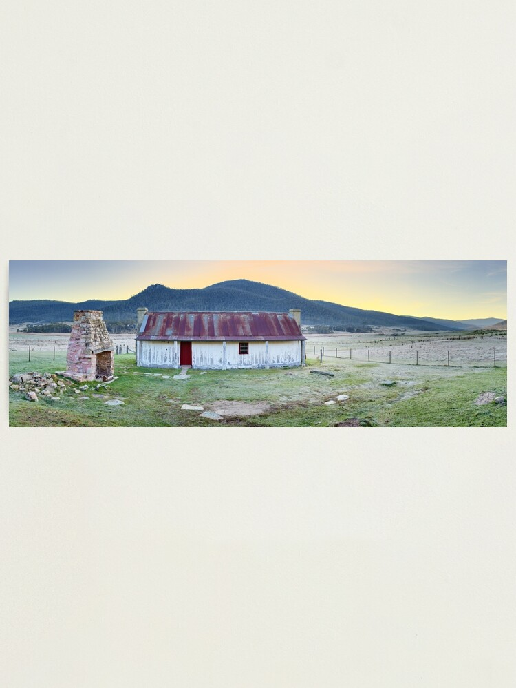 Alternate view of Orroral Homestead, Namadgi National Park, ACT, Australia Photographic Print