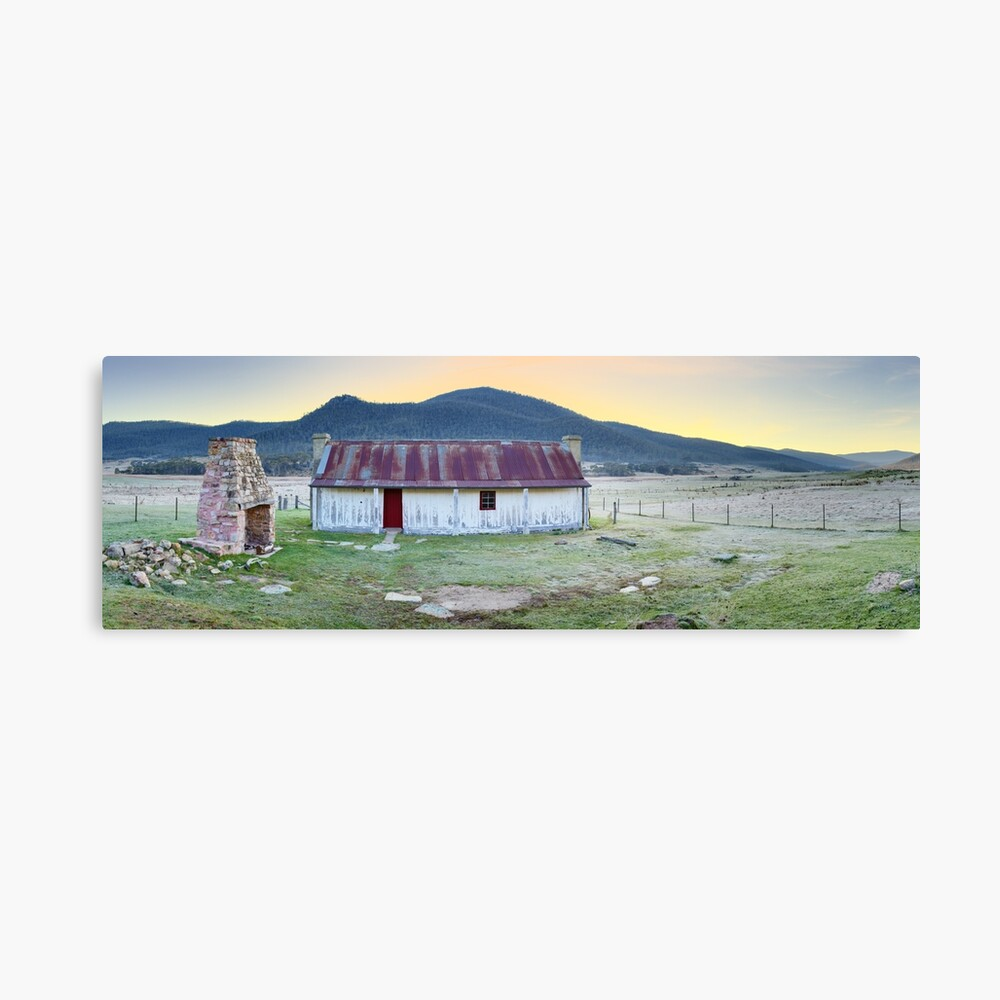 Orroral Homestead, Namadgi National Park, ACT, Australia Canvas Print