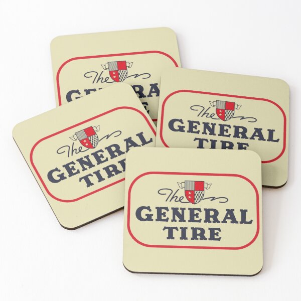 The General Tire Coasters (Set of 4)