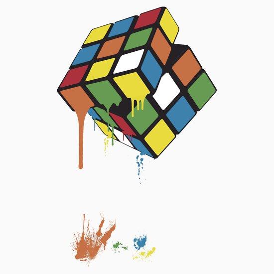 TShirtGifter presents: Rubik's Gloop | Unisex T-Shirt