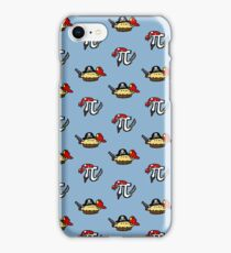 Pi and Pie Pirates pattern iPhone Case/Skin