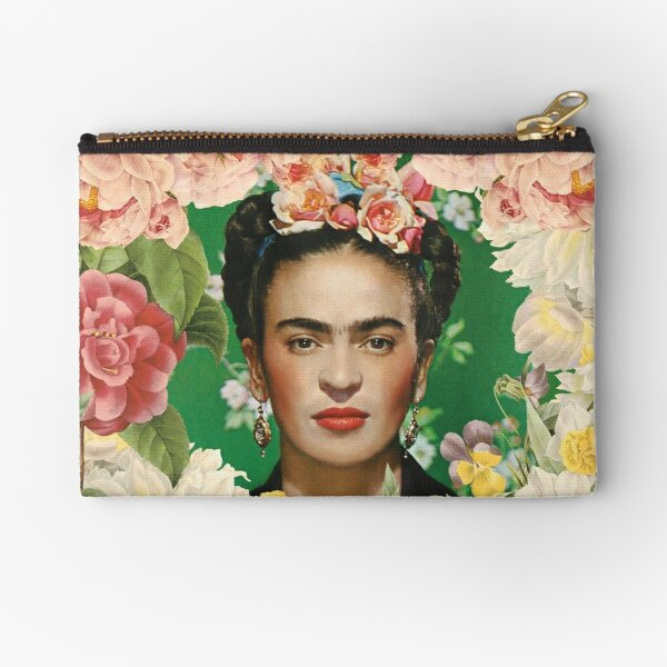 Frida Kahlo IV Zipper Pouch
