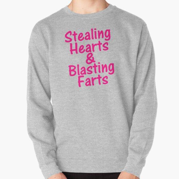 Stealing Hearts & Blasting Hearts Pullover Sweatshirt