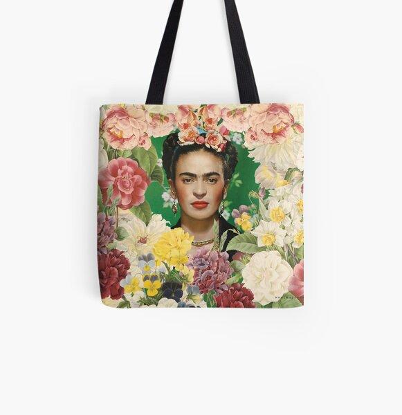 Frida Kahlo IV Tote bag doublé
