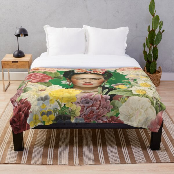 Frida Kahlo IV Throw Blanket