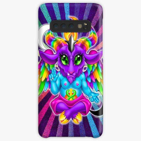 Neon Baphomet Samsung Galaxy Snap Case