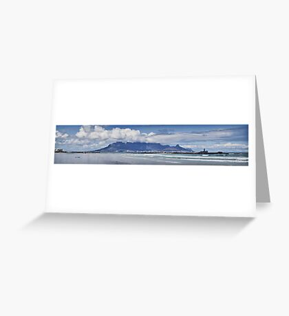 Table Mountain Panoramic Greeting Card