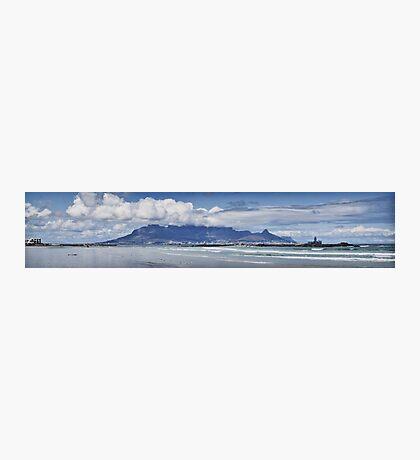 Table Mountain Panoramic Photographic Print