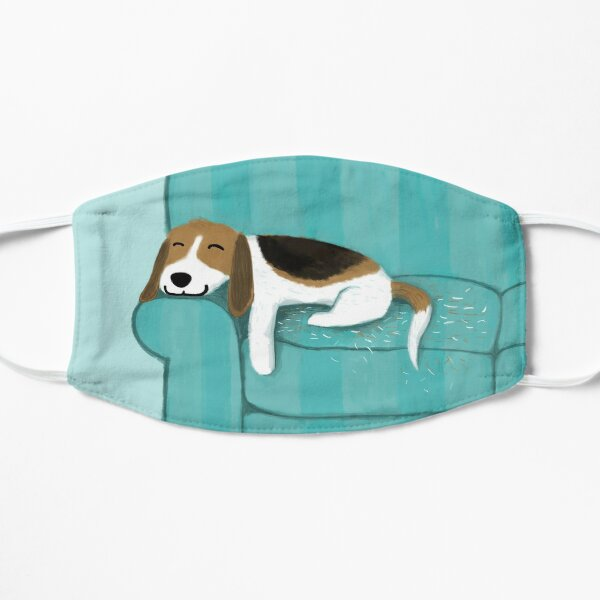 Happy Couch Dog | Cute Beagle Mask