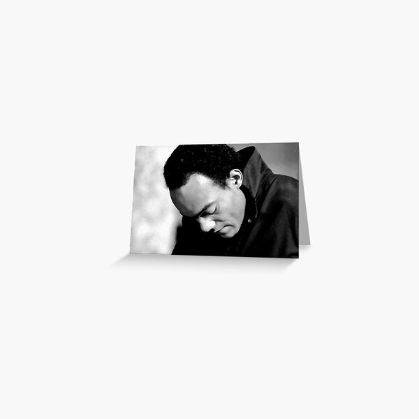 Ken Foree in Profile Greeting Card