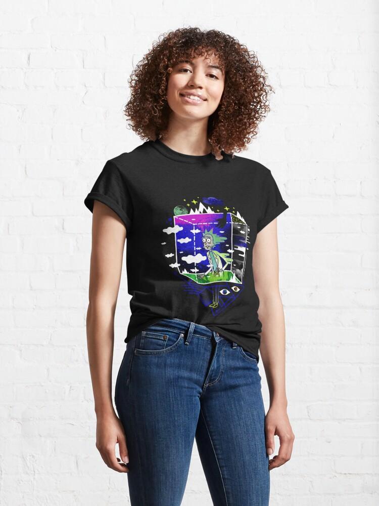 Alternate view of Dimensional Rick Classic T-Shirt