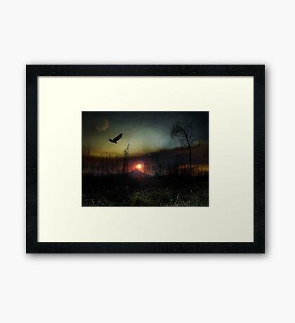 Another World Fine Art Framed Print
