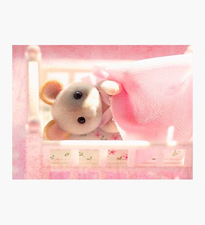 Marshmallow Mouse Photographic Print